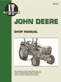 John Deere I&T Tractor Service Manual JD-47