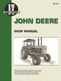 John Deere I&T Tractor Service Manual JD-50