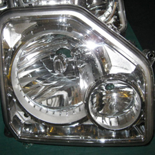 OEM Jeep 2009 Liberty With Fog Head Light, Passenger Side