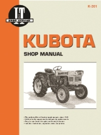 Kubota I&T Tractor Service Manual K-201