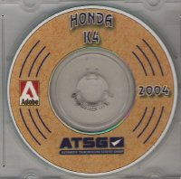HONDA 4 Speed Computer Controlled Transaxle Manual on CD-ROM
