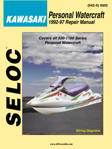 1992 - 1997 Kawasaki Personal Watercraft, Seloc Repair Service Manual