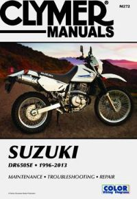 1996 - 2013 Suzuki DR650SE Clymer Motorcycle Maintenance, Troubleshooting, Repair Manual