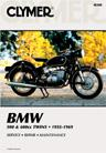 1955 - 1969 BMW 500 & 600cc Twins Repair, Service & Maintenance Manual by Clymer