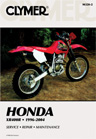 1996 - 2004 Honda XR400R Clymer Repair Manual
