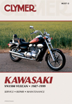 1987 - 1999 Kawasaki VN 1500 Vulcan Clymer Repair Manual