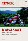 1977 - 1983 Kawasaki KZ650 Clymer Repair Manual