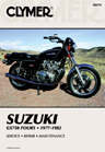 1977 - 1982 Suzuki GS750 Clymer Repair Manual