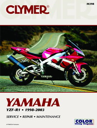 1998 - 2003 Yamaha YZF-R1 Clymer Repair Manual