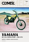 1968 - 1976 Yamaha 80-175 Piston Port Clymer Repair Manual
