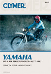 1977 - 1983 Yamaha DT & MX 100-400 Clymer Repair Manual