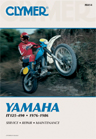 1976 - 1986 Yamaha IT125-490 Clymer Repair Manual