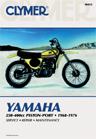 1968 - 1976 Yamaha 250-400cc Piston Port Clymer Repair Manual