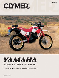 1983 - 1989 Yamaha XT600 & TT600 Clymer Repair Manual