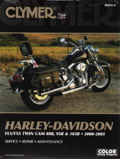 2000-2005 Harley-Davidson FLS/FXS Twin Cam 88B, 95B & 103B Clymer Service, Repair & Maintenance Manual
