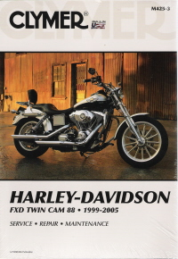 1999-2005 Harley-Davidson FXD Twin Cam 88 Clymer Service, Repair & Maintenance Manual