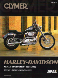 1986 - 2003 Harley-Davidson XL - XLH Sportster Evolution Clymer Service, Repair & Maintenance Manual