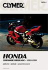 1993 - 1999 Honda CBR900RR Clymer Repair Manual