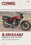 1979 - 1985 Kawasaki KZ500/550 & ZX550 Clymer Repair Manual