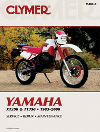 1985 - 2000 Yamaha XT350 & TT350 Clymer Repair Manual