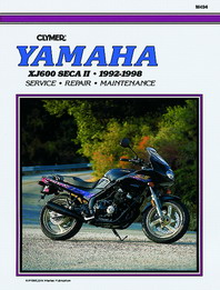 1992 - 1998 Yamaha XJ600 Seca II / Diversion Clymer Repair Manual