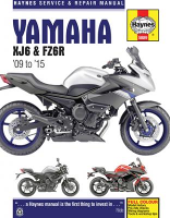 2009 - 2015 Yamaha XJ6 & FZ6R Haynes Repair Manual