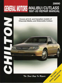 1997 - 2000 Chevrolet Malibu & Oldsmobile Cutlass Chilton's Total Car Care Manual