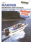 1976 - 1989 Mariner 2-220 hp Outboard (includes electric motors) Outboard Clymer Repair Manual