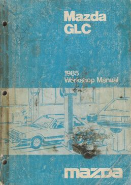 1985 Mazda GLC Workshop Manual