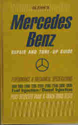 1954 - 1968 Glenn's Mercedes Benz  Repair and Tune - Up Guide