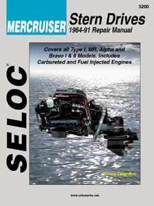 1964 - 1991 Mercruiser Stern Drives Seloc Repair Manual