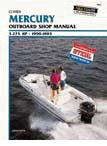 1990 - 1993 Mercury / Mariner 3.0 to 275 hp Outboards Clymer Repair Manual