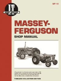 Massey-Ferguson I&T Tractor Service Manual MF-10