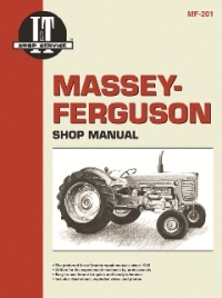 Massey-Ferguson I&T Tractor Service Manual MF-201