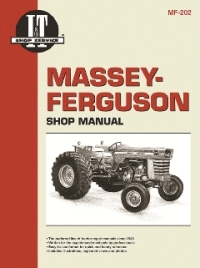 Massey-Ferguson I&T Tractor Service Manual MF-202