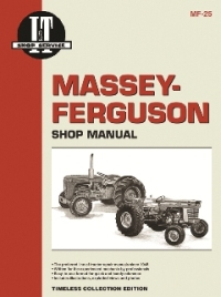 Massey-Ferguson I&T Tractor Service Manual MF-25