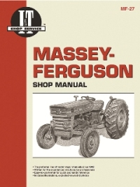 Massey-Ferguson I&T Tractor Service Manual MF-27