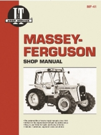 Massey-Ferguson I&T Tractor Service Manual MF-41