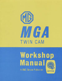 1958 - 1960 MGA Twin Cam Workshop Manual