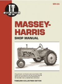 Massey-Harris I&T Tractor Service Manual MH-6A