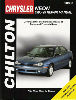 1995 - 1999 Dodge / Plymouth Neon Chilton's Total Car Care Manual
