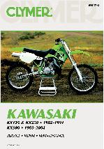 1983 - 2004 Kawasaki KX125, KX 250 & KX500 Clymer Repair Manual