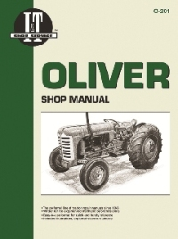 Oliver I&T Tractor Service Manual O-201