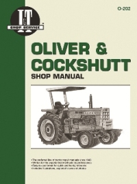 Oliver and Cockshutt I&T Tractor Service Manual O-202