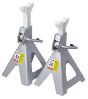 OTC Ratchet Style Jack Stands 12-Ton Capacity (Pair)