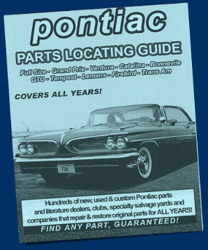 Pontiac Parts Locating Guide