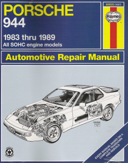 1983 - 1989 Porsche 944 Haynes Repair Manual