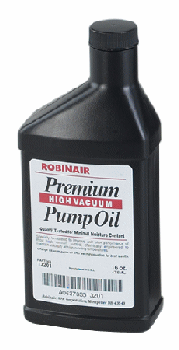 Robinair Premium Vacuum Pump Oil Quart Bottle