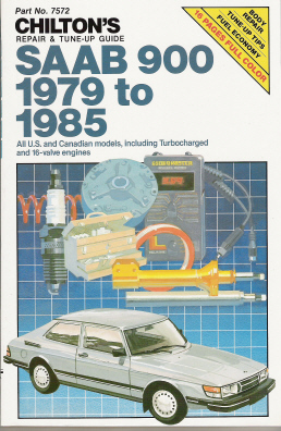 1979 - 1985 Saab 900 Chilton's Repair & Tune-Up Guide