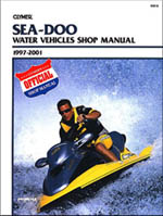 Sea-Doo Repair Manual 1997-2001 by Clymer